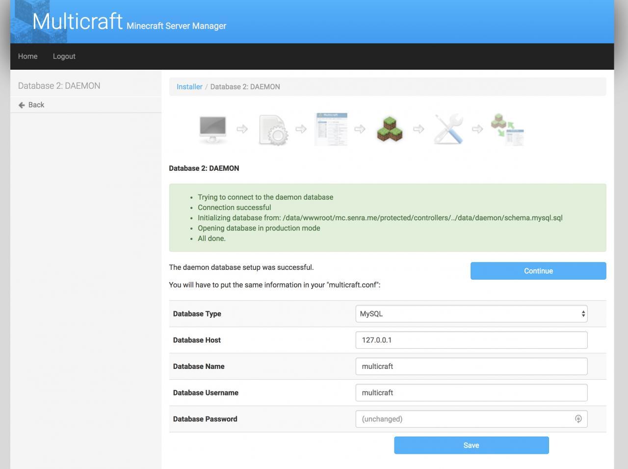 使用MultiCraft面板搭建我的世界MineCraft服务器