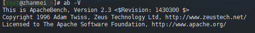 CentOS下安装Apache Bench进行网站压力测试 ab工具使用 图文教程