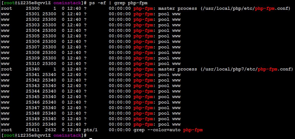 oneinstack实现多个PHP版本共存教程