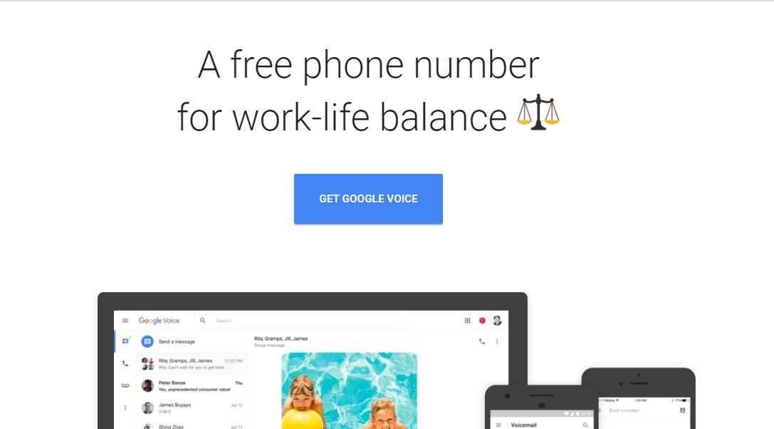 最新Google Voice 虚拟美国电话卡的注册方法