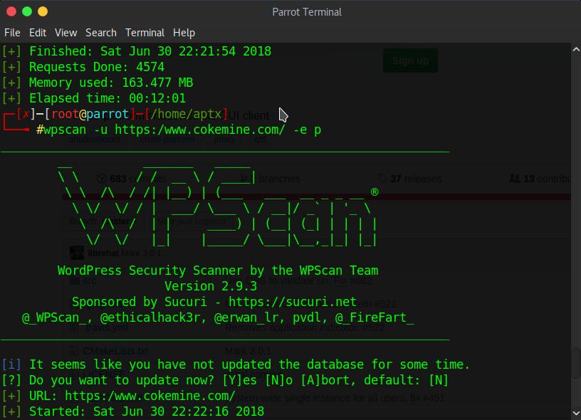 使用WPscan扫描WordPress漏洞教程