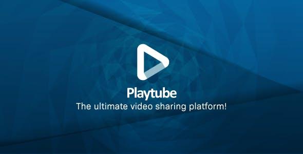 PlayTube影视网站源码PHP视频分享源码