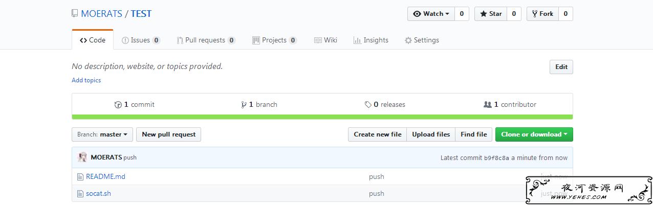 Linux VPS将本地脚本代码或文件推送到Github教程