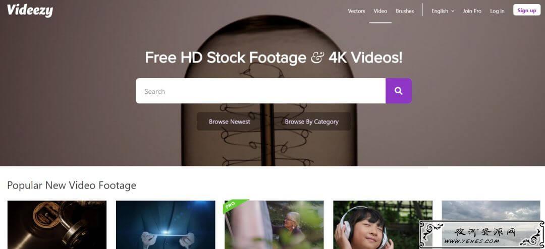 免费可商用的 视频素材 下载网站