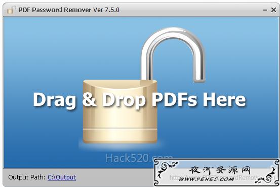 破解 PDF 无法复制文字 – PDF Password Remover 绿色版+注册码