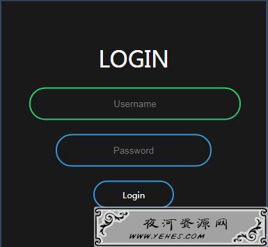 B站网页特效学习 — 登录页制作