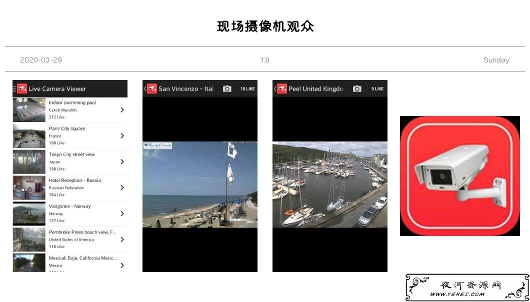 全球摄像头v1.9可以清楚的观看世界各地的摄像头