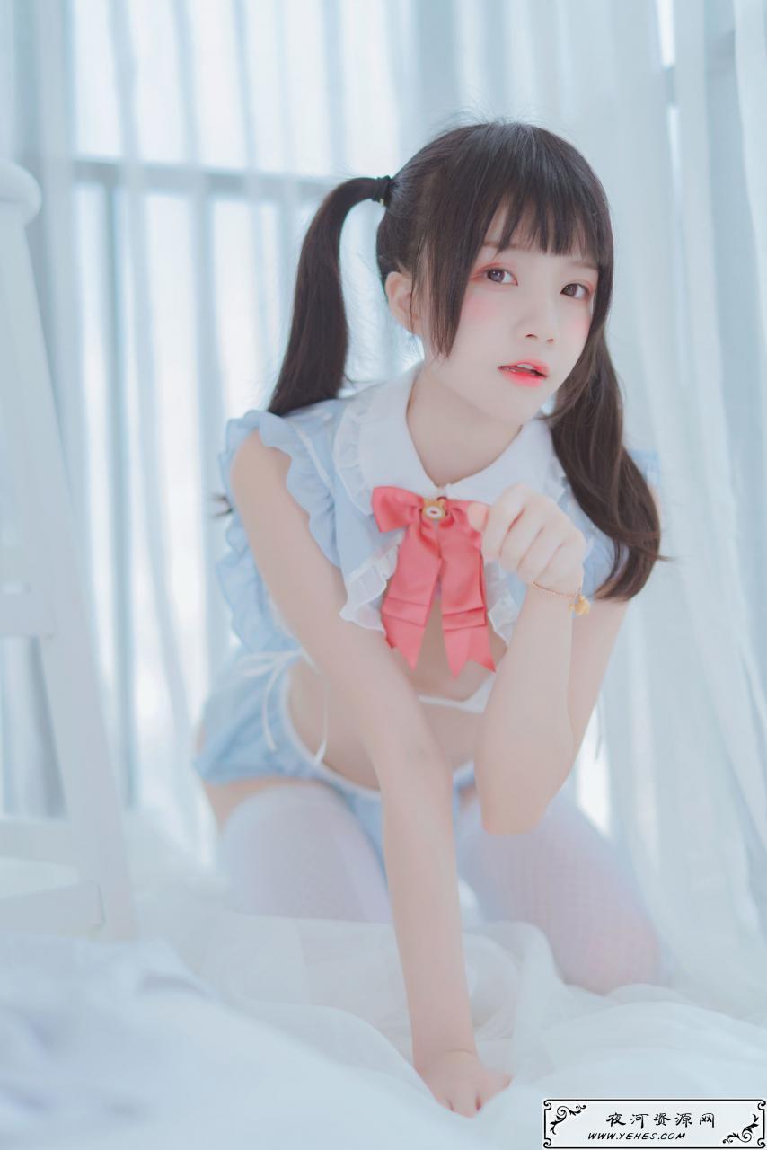 桜桃喵-爱丽丝的兔子美少女诱惑写真
