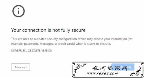 近90万个网站受影响:浏览器将停止支持TLS 1.0/1.1的HTTPS网站