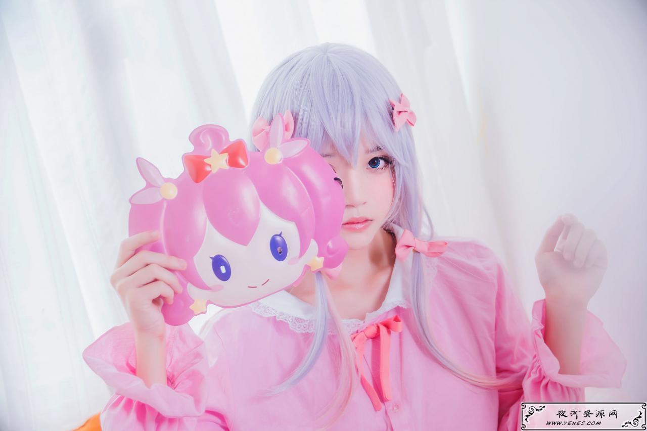 桜桃喵清纯美少女纱雾COS写真