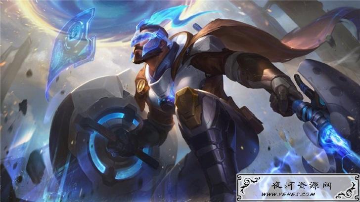 《英雄联盟》2020新四款未来战士皮肤公布