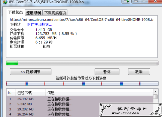 Linux CentOS7x86_64 镜像地址