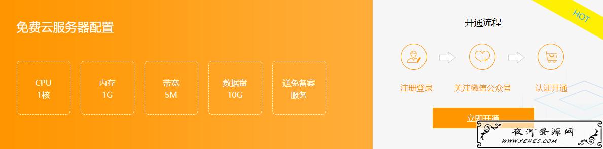 注册阿贝云免费撸1H1G5M费永久免VPS云服务器