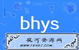 """网络上的""""bhys""""是什么意思?"""