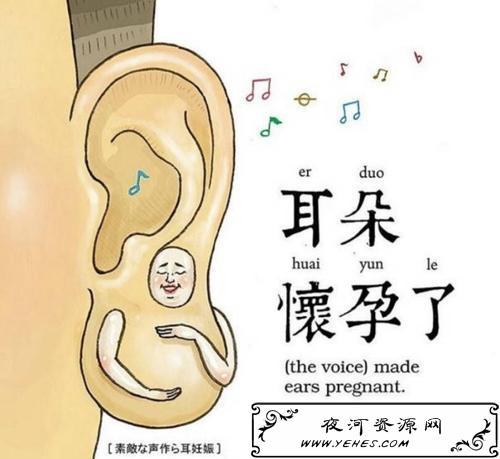 """""""耳朵怀孕了""""是什么意思?"""