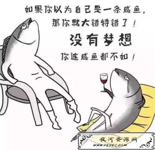 """""""做人如果没有梦想跟咸鱼有什么区别""""什么意思?"""