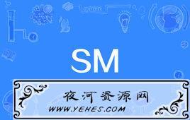 """""""SM""""是什么意思?"""
