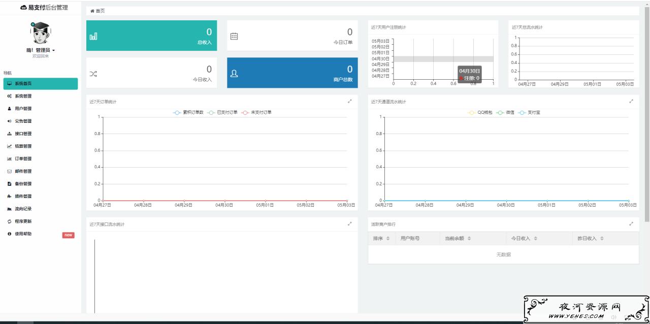 海弟易支付系统源码-全开源版