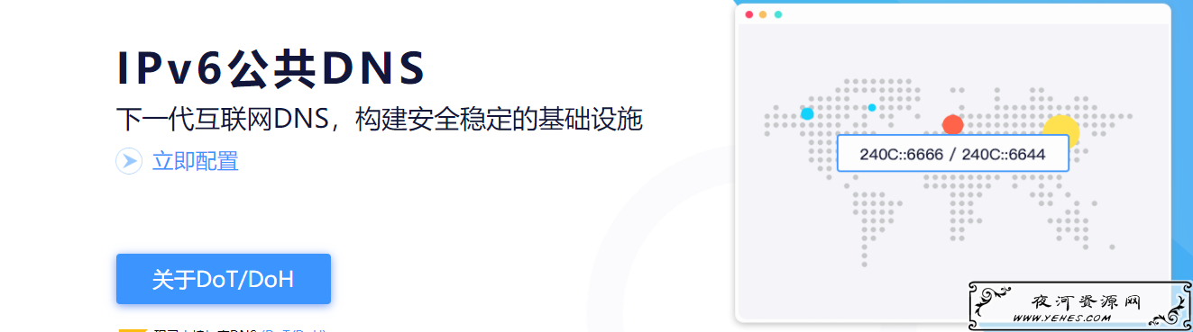 IPV6DNS地址大全收集_包含谷歌,阿里,百度,中国电信,CNNIC等