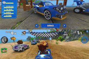 安卓赛车竞技游戏 沙滩竞速